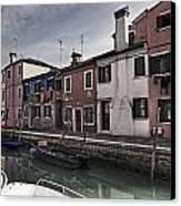 Burano - Venice - Italy Canvas Print by Joana Kruse
