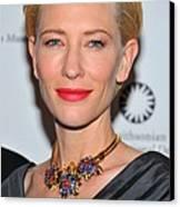 Cate Blanchett Wearing A Van Cleef & Canvas Print by Everett