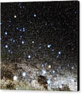 Centaurus And Crux Constellations Canvas Print by Eckhard Slawik