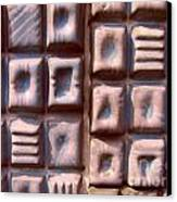 Ceramic Tiles Canvas Print by Yali Shi