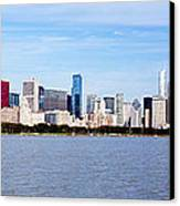 Chicago Panorama Canvas Print by Paul Velgos