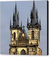 Church Of Our Lady Before Tyn - Prague Cz Canvas Print by Christine Till