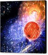 Cosmic Evolution Canvas Print by Don Dixon