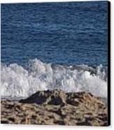 Crashing Waves Canvas Print by Jamie Diamond