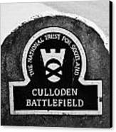 Culloden Moor Battlefield Site Highlands Scotland Canvas Print by Joe Fox
