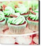 Cup Cakes Canvas Print by Tom Gowanlock
