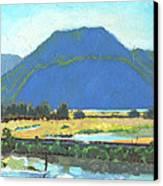 Derr Mountain Canvas Print by Robert Bissett
