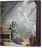 DorÉ: The Annunciation Canvas Print by Granger