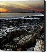 Dramatic Coastline Canvas Print by Carlos Caetano