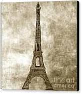 Eiffel Tower. Paris Canvas Print by Bernard Jaubert