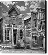 Elkhorn Ghost Town Public Halls - Montana Canvas Print by Daniel Hagerman