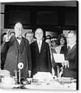 Ex-president William Howard Taft Canvas Print by Everett