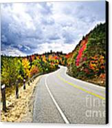 Fall Highway Canvas Print by Elena Elisseeva