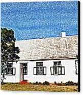 Farm House Canvas Print by Werner Lehmann