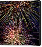 Fireworks Celebration Canvas Print by Garry Gay