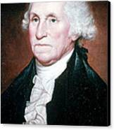 George Washington, 1st American Canvas Print by Photo Researchers