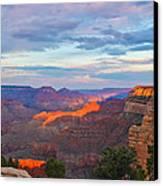 Grand Canyon Grand Sky Canvas Print by Heidi Smith