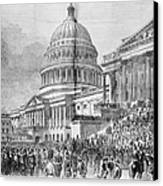 Grants Inauguration, 1873 Canvas Print by Granger
