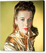 Ida Lupino Canvas Print by Everett