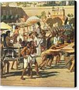 Israel In Egypt Canvas Print by Sir Edward John Poynter