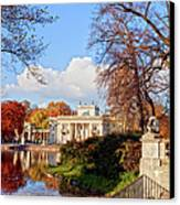 Lazienki Park In Warsaw Canvas Print by Artur Bogacki
