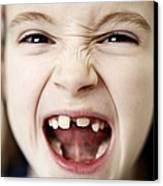 Loss Of Milk Teeth Canvas Print by Ian Boddy