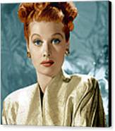 Lucille Ball, Ca. Mid-1940s Canvas Print by Everett