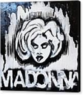 Madonna Canvas Print by Cat Jackson