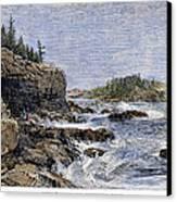 Maine: Mount Desert Island Canvas Print by Granger