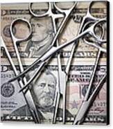 Medical Costs Canvas Print by Tek Image