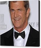 Mel Gibson In Attendance For 25th Canvas Print by Everett