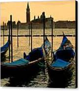 Morning In Venice Canvas Print by Barbara Walsh