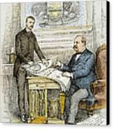 Nast: Civil Service Reform Canvas Print by Granger