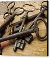 Old Keys Canvas Print by Bernard Jaubert