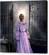 Open Gate Canvas Print by Joana Kruse