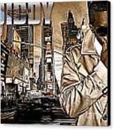 P Diddy Canvas Print by The DigArtisT