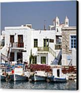 Paros  Canvas Print by Jane Rix