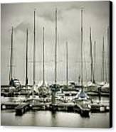 Port On A Rainy Day Canvas Print by Joana Kruse