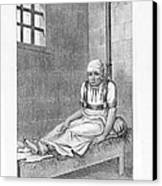 Psychiatric Patient, 19th Century Canvas Print by King's College London
