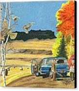 Purebreds Canvas Print by Tim Koziol