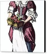 Quaker Woman 17th Century Canvas Print by Granger