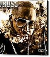 Rick Ross Canvas Print by The DigArtisT