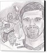 Ron Hextall Canvas Print by Chris  DelVecchio