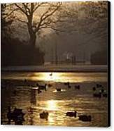 Saint Stephens Green, Dublin, Co Canvas Print by The Irish Image Collection