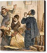 Salem Witchcraft, 1692 Canvas Print by Granger