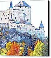 Schloss Tarasp Switzerland Canvas Print by Joseph Hendrix