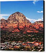 Sedona Red Rock Canvas Print by Lisa  Spencer