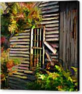 Shed Canvas Print by Suni Roveto