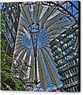 Sony Center - Berlin Canvas Print by Juergen Weiss