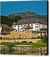 Spa Resort A-rosa - Kitzbuehel Canvas Print by Juergen Weiss
